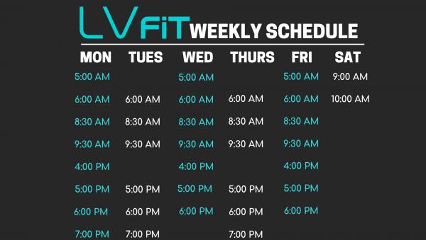 langley gym schedule